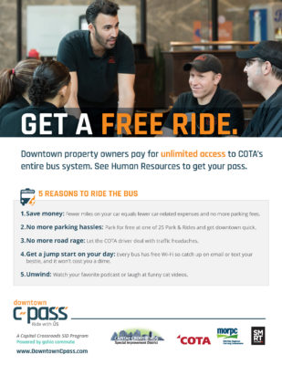 Restaurants Free Ride
